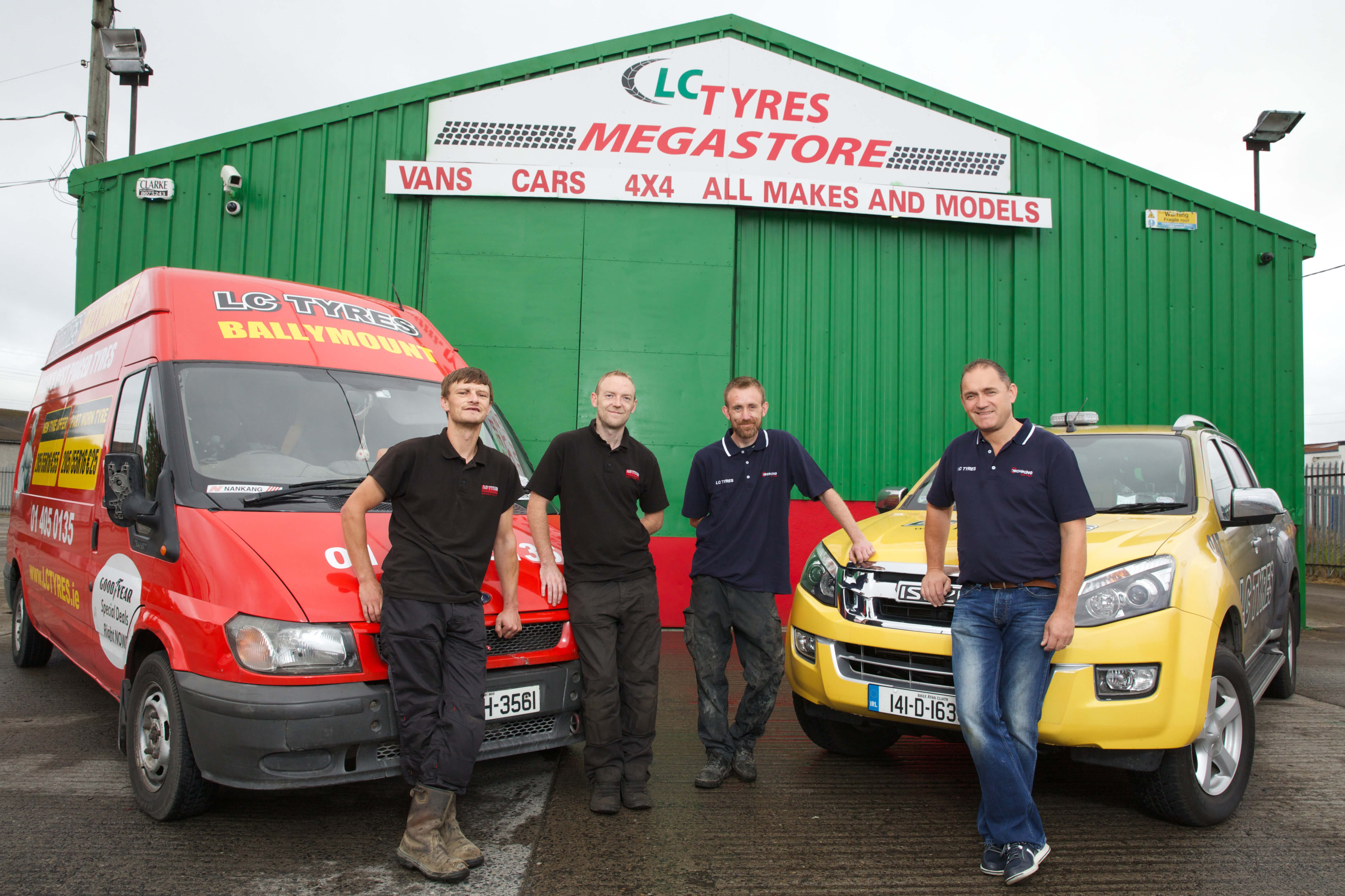 LC Tyres Staff