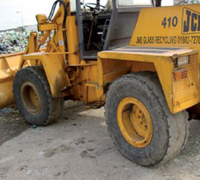 Large Vehicle with OTR Tyres