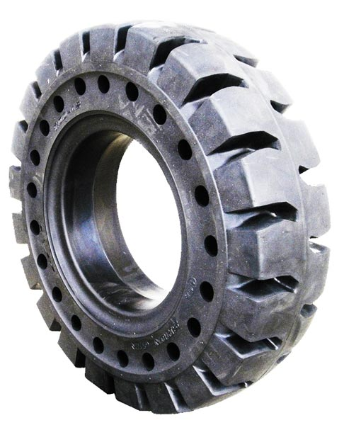 Solid tyre SG SC2 1 ROW APERTURES