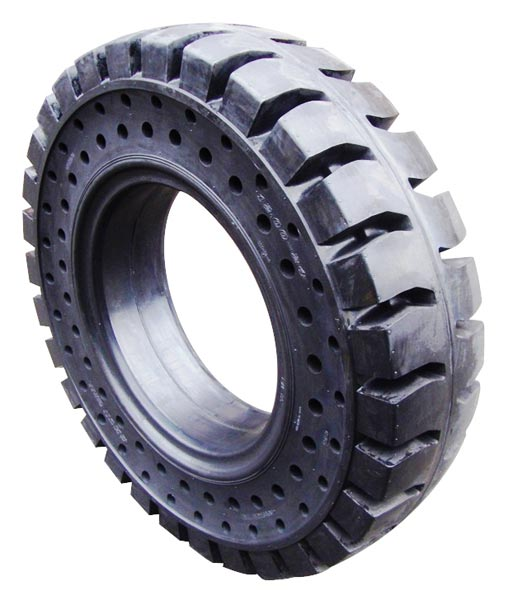 Solid tyre SG S2C2 2 ROW APERTURES
